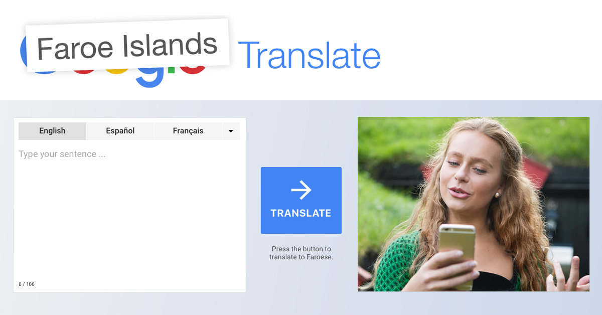 Faroe Islands Translate